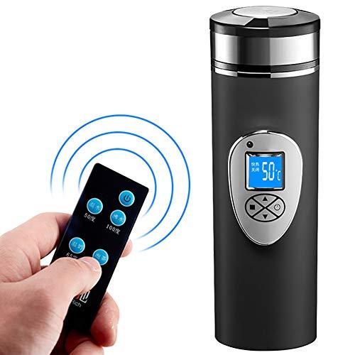 Auto-Heißwasser-Schalen-Heizungs-elektrische Schalen-Auto-Warmwasserbereiter 100 Grad 12v24v, Energie-Zigarettenanzünder-Ladegerät-Unterseite,Black,Car