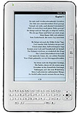 """eBook-Reader """"EBX-600.E-Ink"""" mit DRM & MP3-Player"""