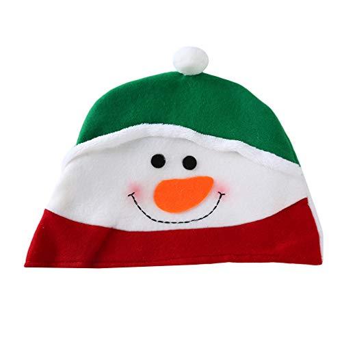 Kostüm Weihnachtsmann Pinguin - Hyhy Festival Weihnachten Hut Santa Schneemänner Elch Pinguin Muster Weihnachten Hut Kostüme Urlaub Hut, Schneemann