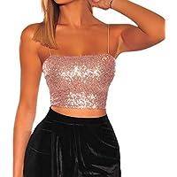 Luckycat Mujeres Backless Sleeveless Tank Top con Espalda Abierta Nudo Casual Shirt tee Color sólido Fiesta