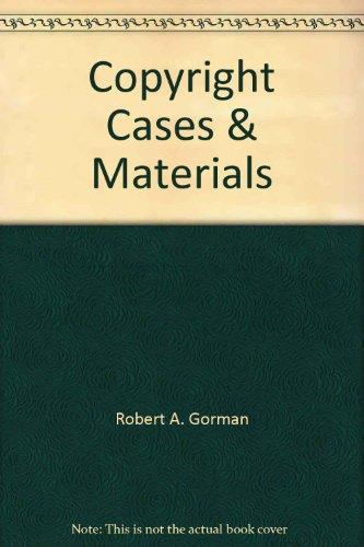 Copyright Cases & Materials