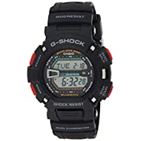 Casio G-Shock Mudman Men's Digital Resin Band Watch - G-9000-1V, Black Band