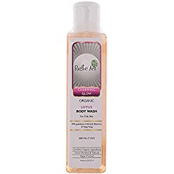 Rustic Art Body Wash - Organic Lotus, 200ml Bottle