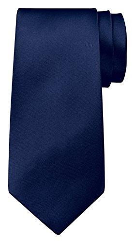 BomGuard Krawatte einfarbig 8 cm breit in Dunkelblau