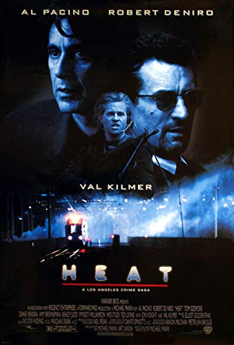 1995 Plakat (MBPOSTERS Heat 1995 Retro Movie Poster, Plakat in Sizes)