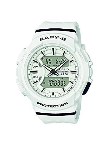 Casio Baby-G - Damen-Armbanduhr mit Analog/Digital-Display und Resin-Armband - BGA-240-7AER