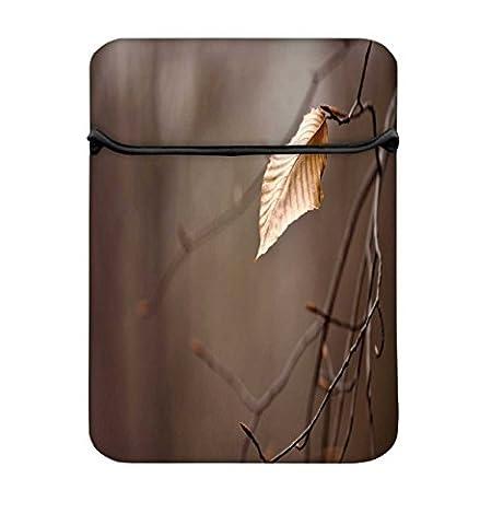 Sterben, Blatt 11zu 29,5cm Laptop Hülle Sleeve Case mit Reißverschluss und 2integrierten Taschen für Ladegerät und Maus