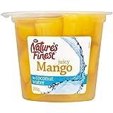 Más Fino Mango De La Naturaleza En El Agua De Coco 200G - Paquete de 4