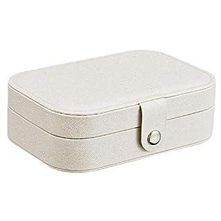 awhao Schmuckschatullen Ohrring Organizer Fresh Simple Girl Multifunktions-Aufbewahrungsbox