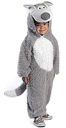 Princess Paradise 211915 Little Wolf Toddler Costume Size: 18 Months/2T