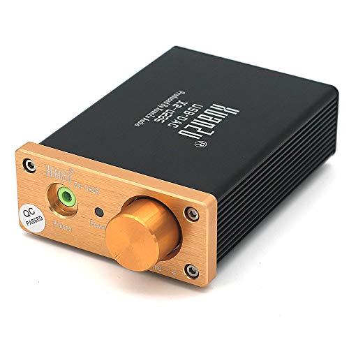 DollaTek Decodificatore USB DAC Da USB a Coassiale Fibra WM8740  Convertitore da digitale ad analogico stereo ae9ba8e9a836
