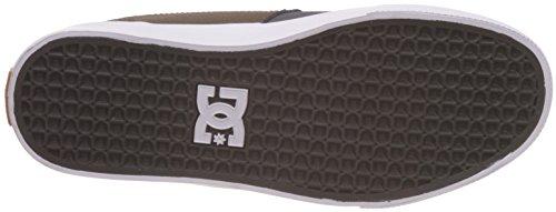 DC Shoes Wes Kremer 2 S, Sneaker Basse Uomo Grigio-Marrone