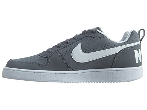 Nike Herren Court Borough Low Basketballschuhe Gris (Cool Grey / White)