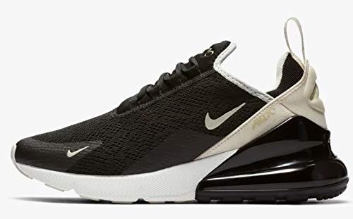 Nike Damen W Air Max 270 Leichtathletikschuhe Mehrfarbig (Black Light Bone 010), 44.5 EU