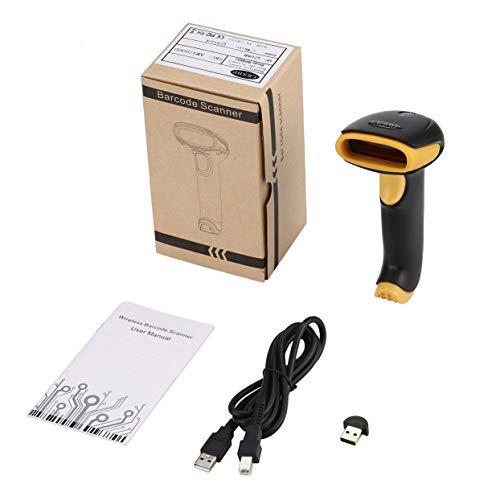 Tree-on-Life Wireless 4.0 + USB 2.0-Laser-Barcode-Scanner mit Hand-Barcode-Lesegerät Einfach zu bedienen