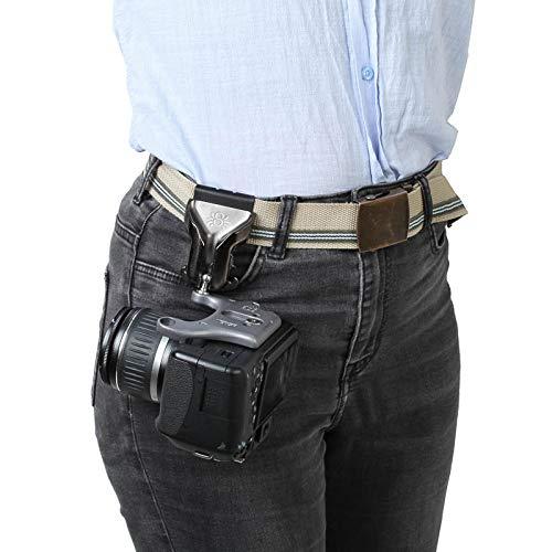 Spider Pro v2 Camera Holster Hüft-Tragesystem mit Holster, Kameraplatte und Pin für eine professionelle DSLR-Kamera