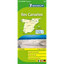Carte ZOOM Iles des Canaries.