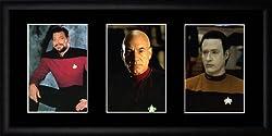 Star Trek Next Generation Framed Photographs
