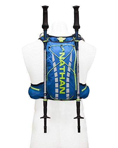 Nathan vaporair Herren Race Weste Hydration Pack Trinkblase 2L Blau - electric blue