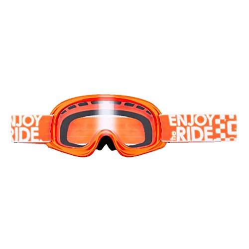 O'Neal Kinder B-Youth Goggle Orange Crossbrille RL Motocross MX DH Downhill, 6025K-203