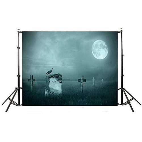 Fotografie-zusammenklappbarer Hintergrund-Stoff der Halloween-Thema-Kinder for Porträt-Videoaufnahme-Hochzeit Porträtfotografie (Color : C3, Size : 150x210cm) ()