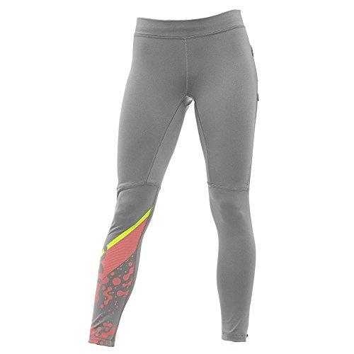 Reebok -  Pantaloni sportivi  - Donna Grey Large