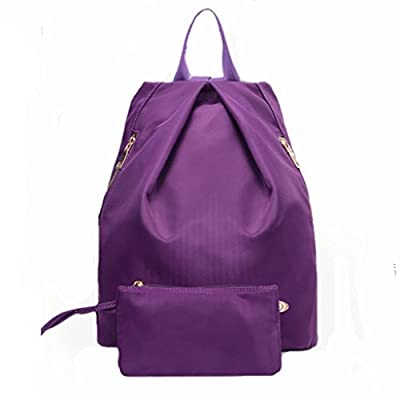 New Cute Ladies Girls Moire Canvas Satchel Rucksack Backpack Shoulder School Bag