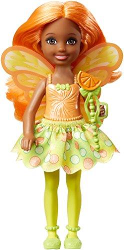 Mattel Barbie Chelsea Doll Dreamtopia - Fairytale Dark Skin Orange Hair (Dvm89) -