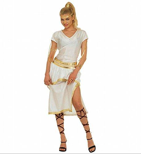 Widmann 37283 - Erwachsenenkostüm Athena, Kleid, Gürtel und Bänder, Gröߟe (Kopfbedeckung Kostüm Athena)