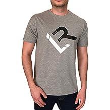 e85c556c6b8d5 Linea Recta - Camiseta Manga Corta LR Gris