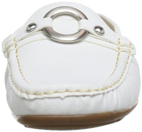 Andrea Conti 875301, Mocassins femme Weiß (Weiß 001)