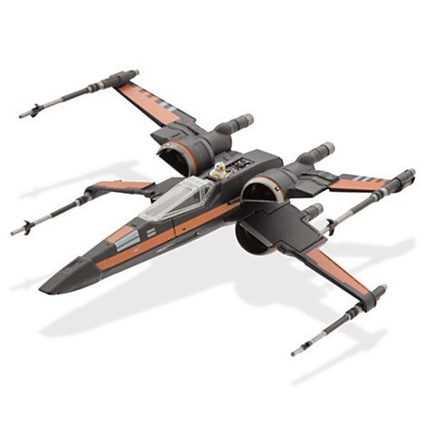 Official Disney Star Wars: The Force Awakens Poe's X-Wing Fighter Die-Cast Vehicle