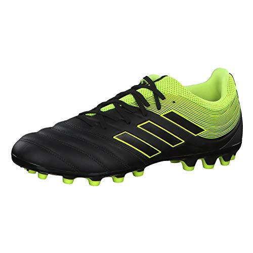 san francisco deb96 fd9d6 adidas Copa 19.3 AG, Scarpe da Calcio Uomo, Nero Solar Yellow Core Black