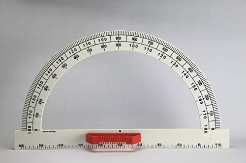 WISSNER 160600.000 - Cuchilla de ángulo Profesional (180°, 50 cm), Color Blanco