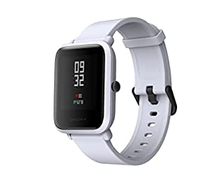 Smart Watch, Amazfit bip Youth Edition GLONASS GPS frequenza cardiaca sport fitness tracker orologio schermo 3,3 cm 32 G ultra-leggero IP68 impermeabile 45DAY standby, donna, Amazfit Bip