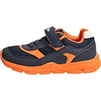 Geox New Torque BOY J847NA Boy Trainers,Slip-on,Kids Low Shoes,Sports Shoes,Slippers,Elastic,Velcro