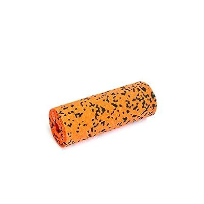 Blackroll Orange (Das Original) BLOCK für Yoga mit Massageball blackBALL-orange und kleiner Faszienrolle MINI. Mehr Anwendungsmöglichkeiten bei der Selbstmassage und beim Faszien Training. Bringt verklebte Faszien in Bewegung und stimuliert Trigger-Punkte