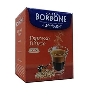 Dolci Aveja 128 Capsule Compatibili a Modo Mio, Espresso d'Orzo 8 x 16 - 320 gr