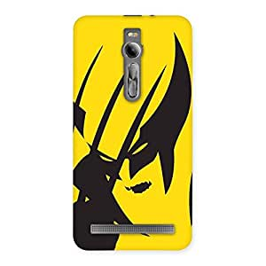 Wolf Zone Multicolor Back Case Cover for Asus Zenfone 2