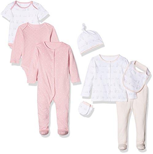Mothercare Baby-Mädchen Bekleidungsset My First, Rose, 68 Preisvergleich