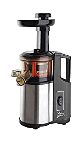 Veto Mini Juicer In Stainless Steel And Black Slow