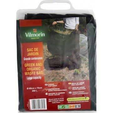 Vilmorin - Sac de jardin grande contenance PE 250L Ø65cm x 75cm