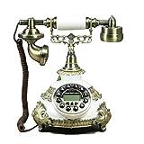 DIANHUA Amerikanischer Retro-Mode antiker Touch-Ton Retro-Nostalgie klassische traditionelle drahtgebundenen Telefon fixe Ideen