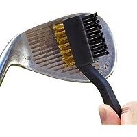 Tour Golf Clubes cabeza cepillo de limpieza cobre y Nylon de dos side
