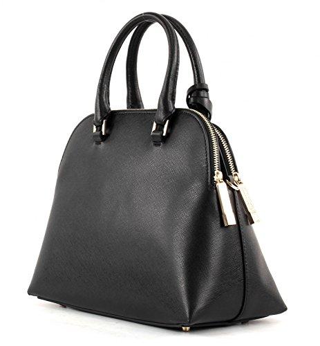 Coccinelle Dafne Handtasche Leder 22 cm nero