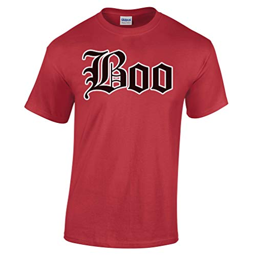 Halloween Old English Boo-Geist-Abendkleid-Partei-Kostüm Herren T-Shirt