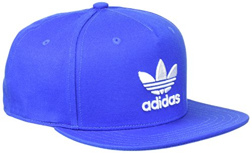 adidas Trefoil Snap-Back Kappe, Blue, OSFM