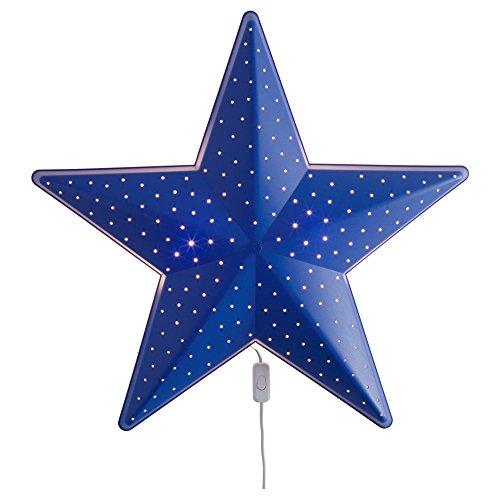 Ein Stern-wandleuchte (IKEA Kinder Wandleuchte Smila 5 Motive - Blume, Herz, Stern, Mond, Käfer (Stern))
