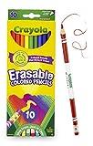 Crayola 68–4410radierbar Farbe Bleistift (10Stück)
