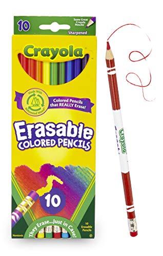 Crayola 68-4410radierbar Farbe Bleistift (10Stück)
